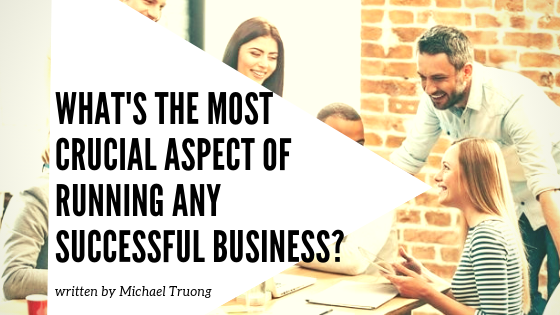 Most crucial aspect of running any business blog